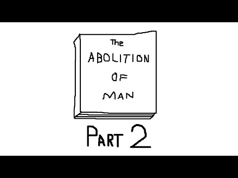 the abolition of man men without chests