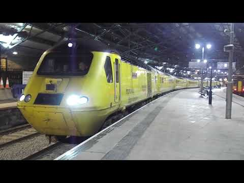 Network Rail 43013 And 43062 On The Flying Banana 25th January 2018
