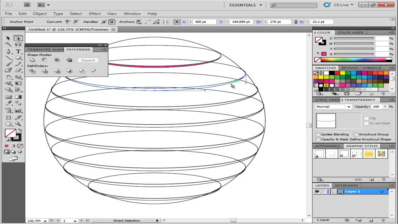 pics How to Create the One Sphere Pattern in Microsoft Excel