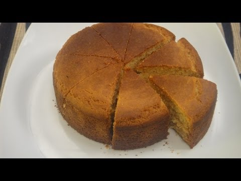 Eggless Sponge Cake With Chef Sheetal