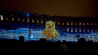 Наступает новый 2017, лазерное шоу Дворцовая площадь, С-Пб, 30.12.16, поводы 2016 года