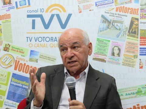 Debate dos fatos na TV Votorantim Prefeito Erinaldo Alves da Silva 24 10 2015