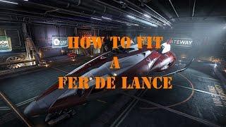Elite Dangerous: How To Fit A Fer De Lance