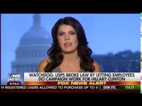 The Federalist's Bre Payton Details Postal Union's Hatch Act Violation In Support Of Hillary Clinton
