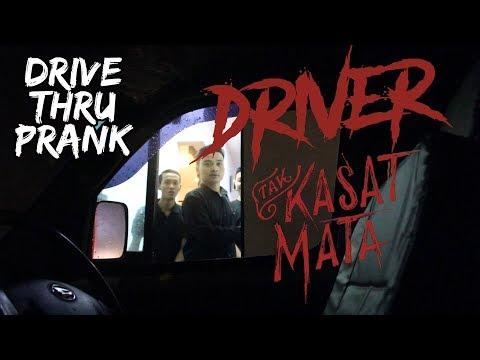 DRIVER TAK KASAT MATA !! | Drive Thru Prank Indonesia