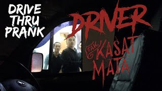 DRIVER TAK KASAT MATA !!   Drive Thru Prank Indonesia