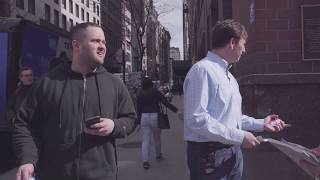 Crypto CEO, Alex Mashinsky, asks the People of NYC about Bitcoin and Cryptocurrency