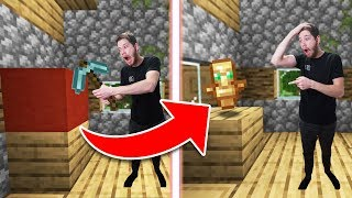 Minecraft Survival Except Every Block Is Random!   Randomcraft #6