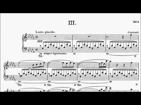 RCM Piano 2015 Grade 10 List C No.7 Liszt Consolation No.3 Sheet Music