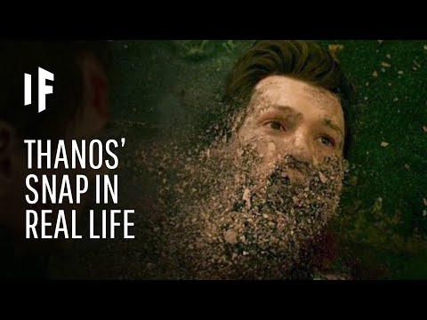 Reece - What If The Thanos' Snap Happened In Real Life?