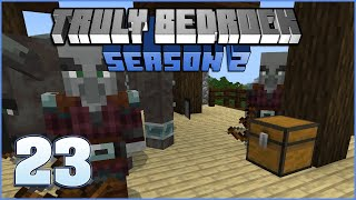 Raid Farm | Truly Bedrock Season 2 Episode 23 | Minecraft Bedrock Edition