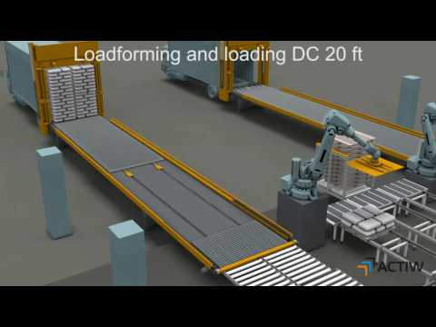 Actiw LoadMatic - automated trailer loading of Petrochemical bags