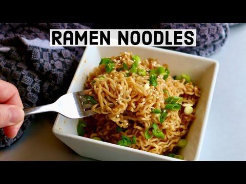 How to Make GARLIC RAMEN NOODLES Using Maruchan Ramen | Easy Recipe