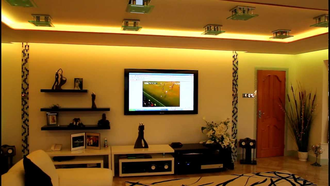 Rgb led lighting kits youtube for Led lighting ideas for living room