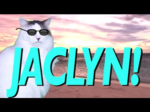 hqdefault happy birthday jaclyn! epic cat happy birthday song youtube