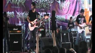 gothic and black metal endlesslove,live in lamongan