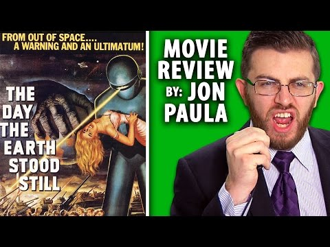 The Day The Earth Stood Still (1951) -- Movie Review #JPMN