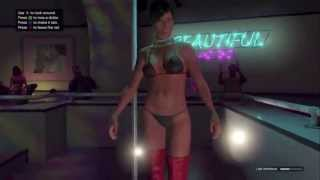 STRIP CLUB!!! Grand Theft Auto V: #03