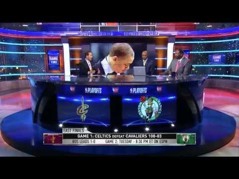 Cavaliers vs Celtics Game 1 Postgame Analysis | NBA Gametime | May 13, 2018