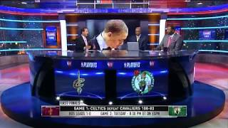 Cavaliers vs Celtics Game 1 Postgame Analysis | NBA Gametime | May 13, 2018