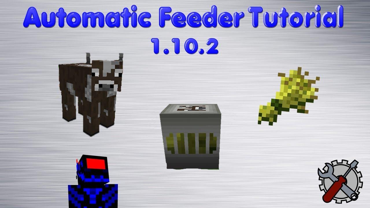 automatic feeder minecraft