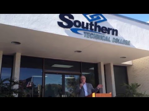 Mayor Tim Pospichal at Southern Technical College Part 2