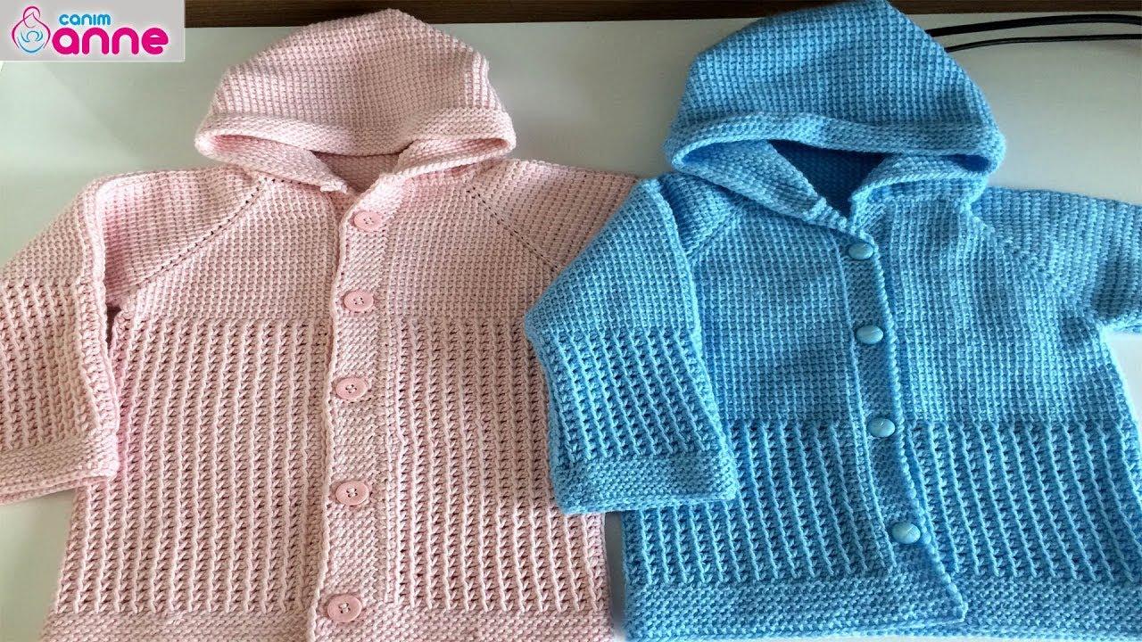 Kolay Bebek Ceketi Yapımı