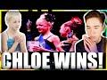 Chloe Beats Maddie At Nationals Reaction Dance Moms