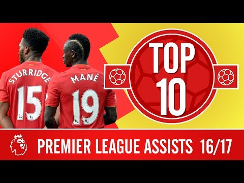 Top 10: The best Premier League assists of 2016/17 | Sturridge, Coutinho, Wijnaldum