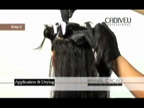Кератиновое выпрямление волос. Обучение. Cadiveu Brasil Cacau .