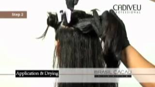 Бразильское кератиновое выпрямление волос Cadiveu