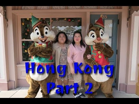 Vlog#9: Hong Kong Travel Part 2 (Disneyland) - Iyah Ramirez