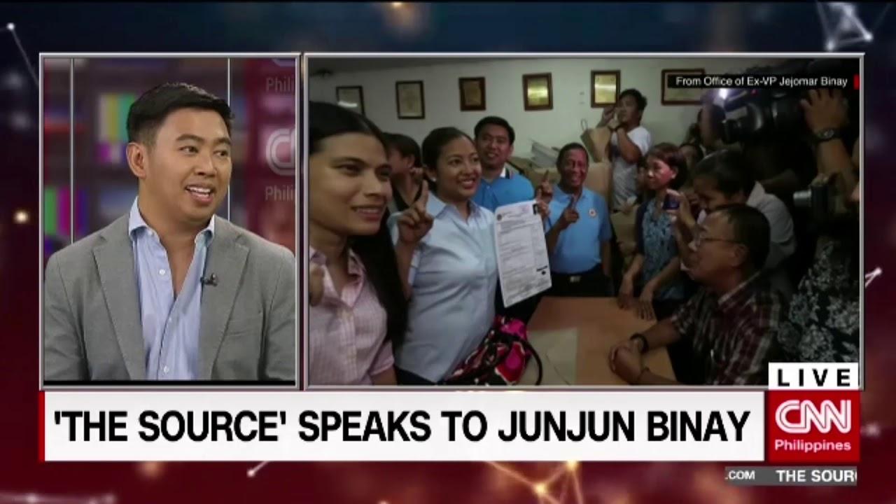 'The Source' speaks to Junjun Binay