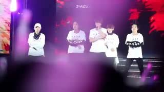 Video [Fancam]160723 화양연화 on stage Epilogue in Beijing I NEED U Jin and Suga download MP3, 3GP, MP4, WEBM, AVI, FLV April 2018