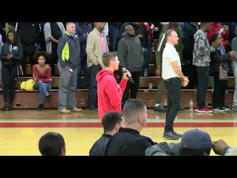 BHS Boys Basketball vs Catholic Memorial 2-15-19