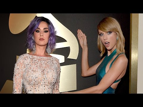 Taylor Swift Vs Katy Perry - Best 2015 Grammys Red Carpet Style?