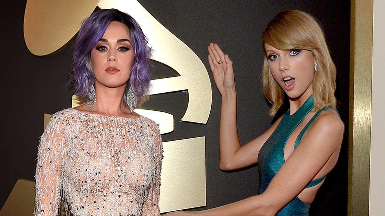 Taylor Swift Vs Katy Perry Best 2015 Grammys Red Carpet Style Youtube