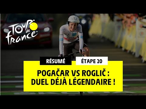 #TDF2020 - Étape 20 - Pogačar Vs Roglič : Duel Déjà Légendaire !