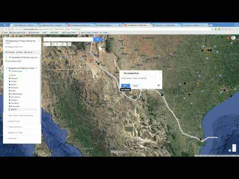 The Mapping of Texas History Part 1:  Geography & Regions of Texas