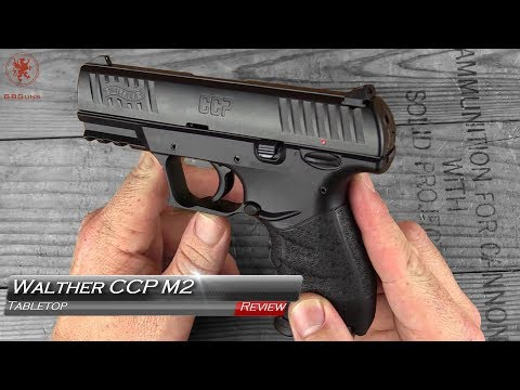 Walther CCP M2 Field Strip and Tabletop Review