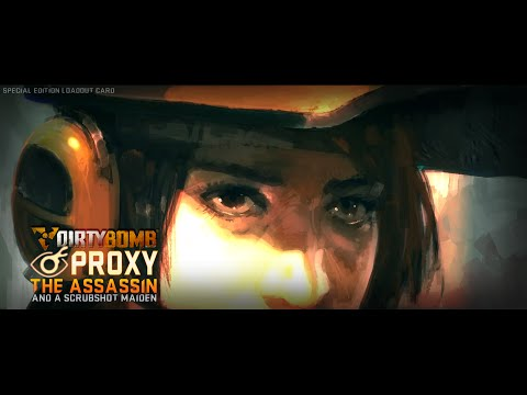 Dirty Bomb 000S: Rogue en Voge Ending Proxy/Aimee Special Edition Cards