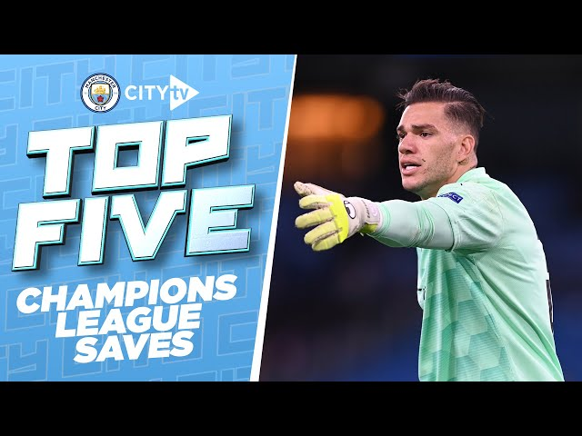 TOP 5 CHAMPIONS LEAGUE SAVES!   Best of 2020/21