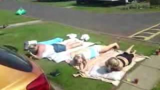 What a feeling workout! Berwick caravan park!