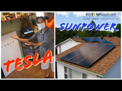 Tesla Powerwall & SunPower Solar Panels | Hudson Valley