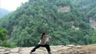 Sword Wushu in Wudang Mountains