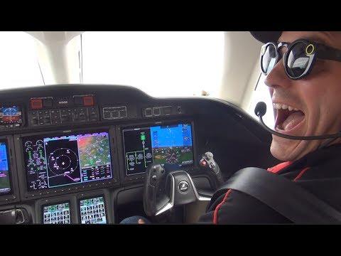 Watch Me Fly the $5 Million HondaJet Including Tips & Tricks