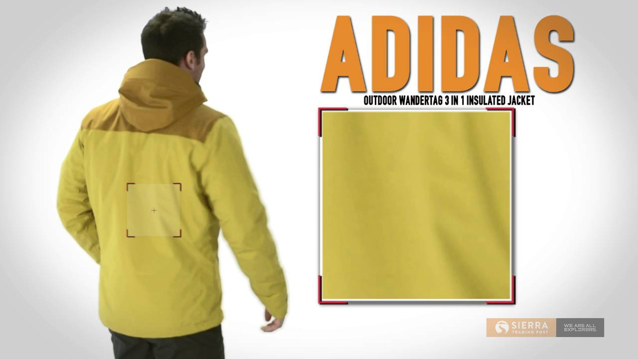 Adidas hiking wandertag jacket men's