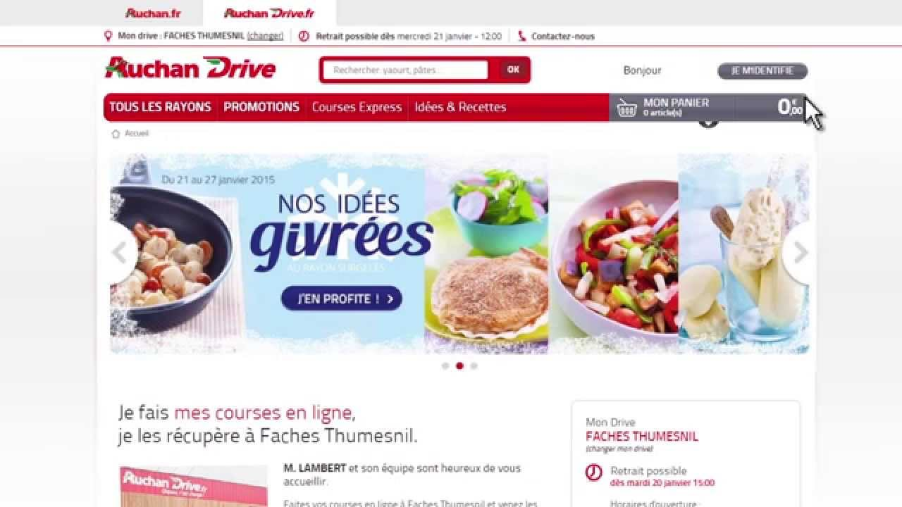 Coupons reductions auchan drive