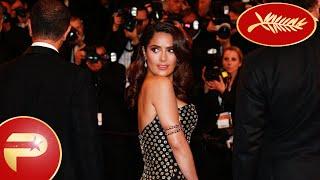 Cannes 2015 - Salma Hayek éblouissante pour la montée des marches du Festival