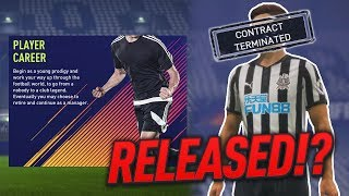 CAN YOU GET RELEASED IN PLAYER CAREER MODE!? FIFA 18